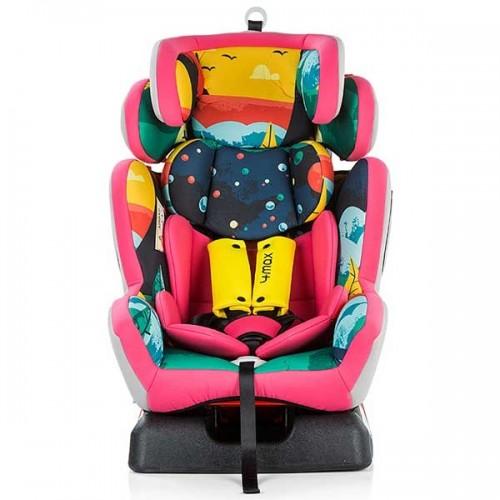 Scaun auto Chipolino 4 Max 0-36 kg pink imagine