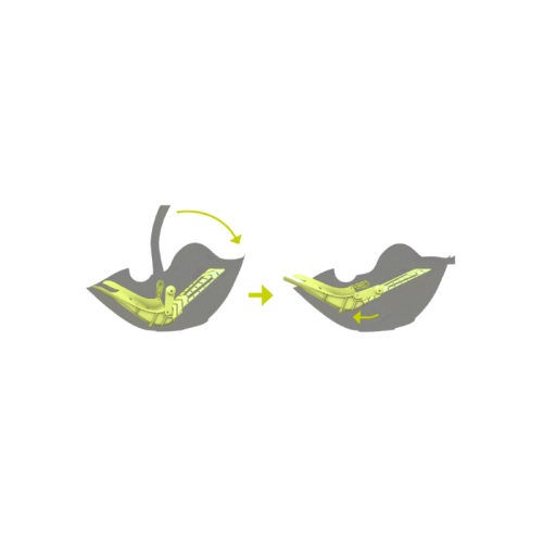 Scaun auto Evolution Pro 2 Lime Green
