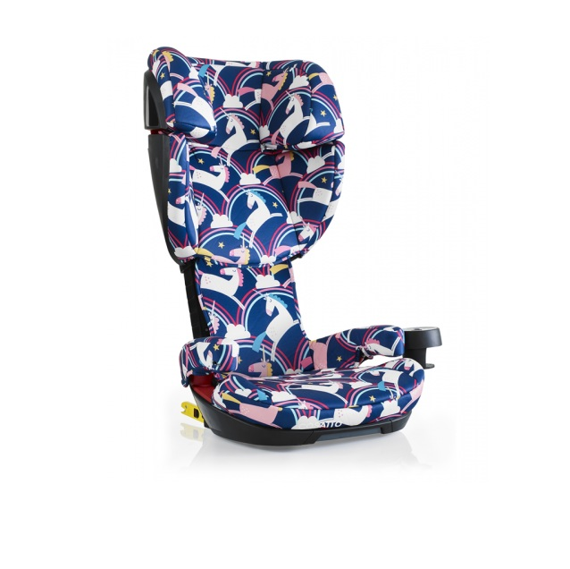 Scaun auto cu Isofix 15-36 kg Skippa Magic Unicorns