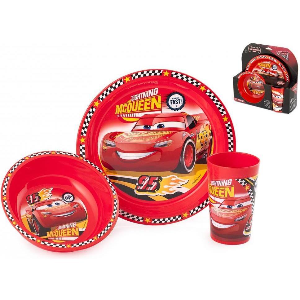 Set 3 piese Cars 3 Lulabi 8013900