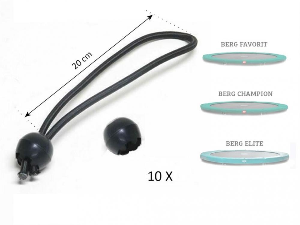 Set elastice prindere prelata protectie arcuri trambulina (10 buc)