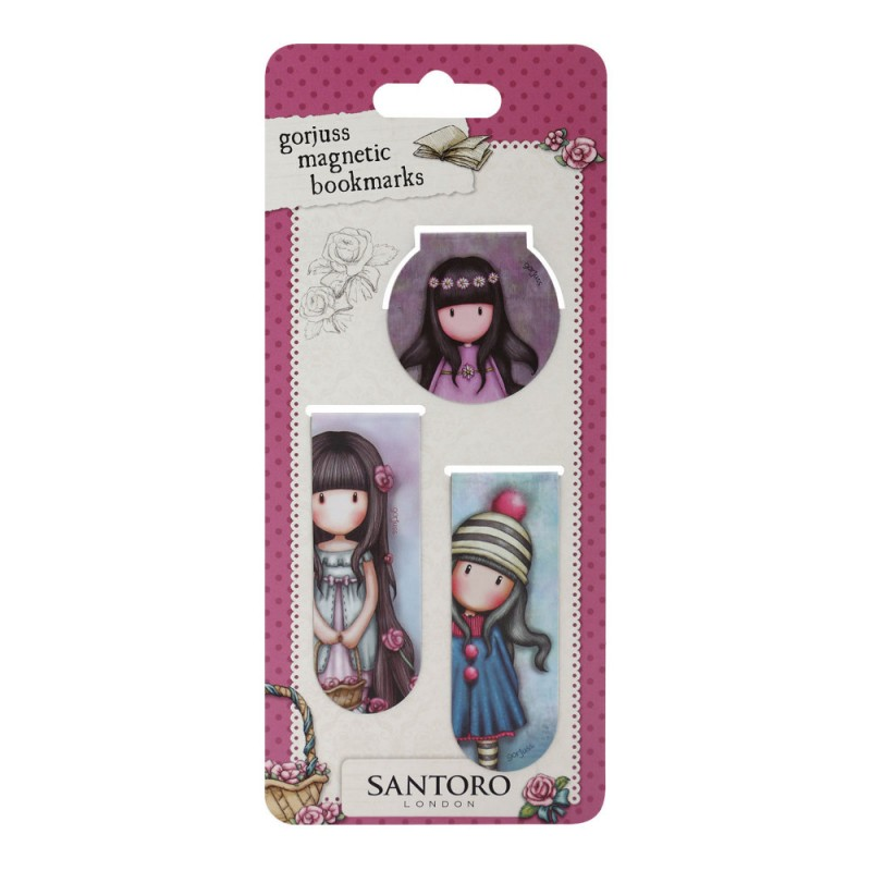 Set semne carte magnetice Rosie, Pom Pom, Oops a Daisy