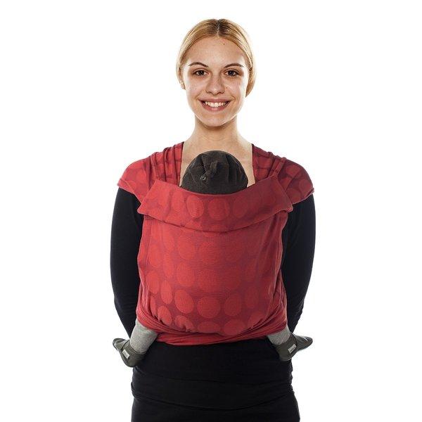Sistem de purtare MeiTai Jacquard BB-Tai Babylonia Red Chilli