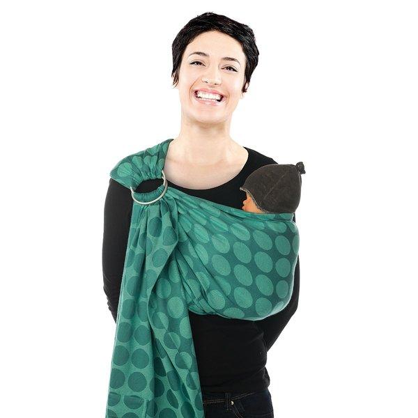 Sistem de purtare sling Jacquard BB-Sling Babylonia Wasabi