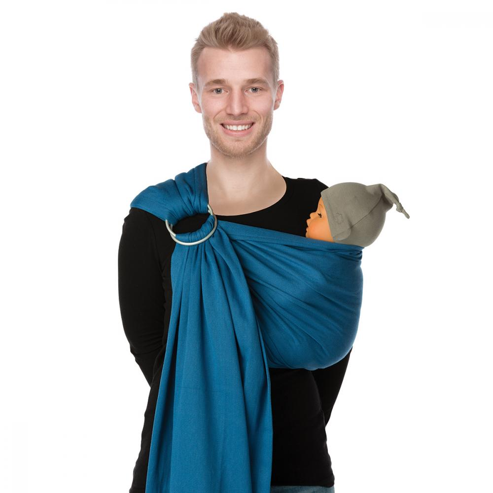 Sistem de purtare sling trend BB-Sling Babylonia Campanula Blue