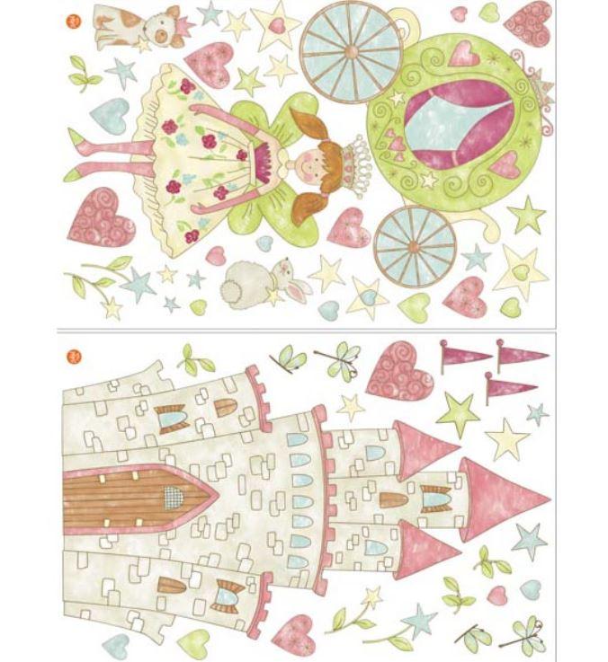 Stickere decorative Wallpops Princess Fairyland