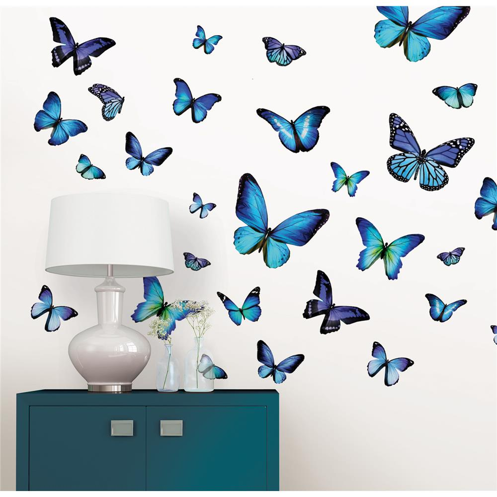 Stickere decorative cu fluturasi WallPops Mariposa