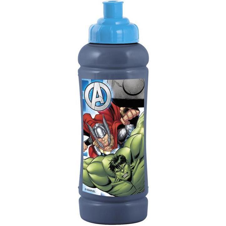 Sticla apa plastic Avengers Lulabi 7987400