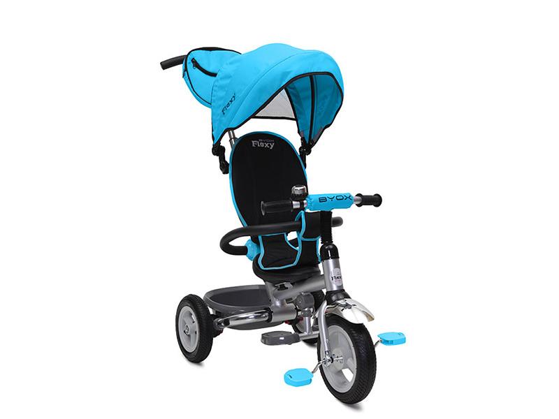 Tricicleta copii Flexy Plus Albastru