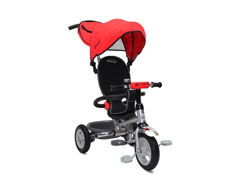 Tricicleta copii Flexy Plus Rosu