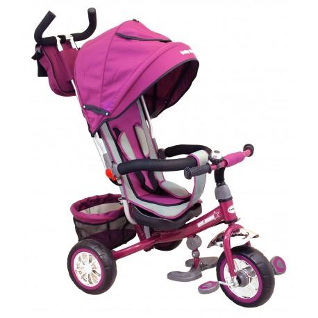 Tricicleta copii Baby Mix 37-5 violet imagine