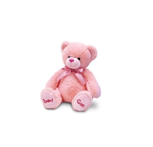 Ursulet de plus Roz Nursery Bobby 25 cm Keel Toys