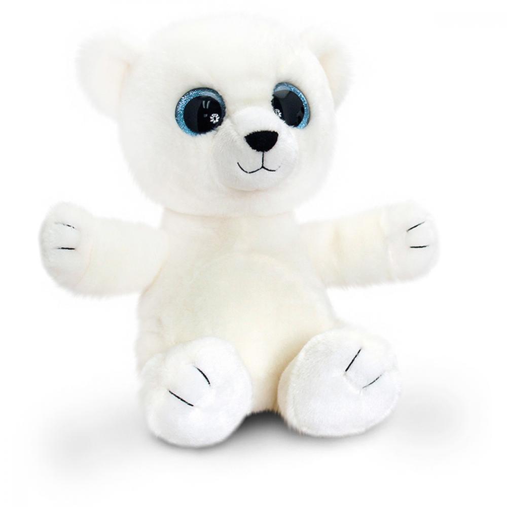 Ursulet polar de plus Sparkle Eyes 25 cm