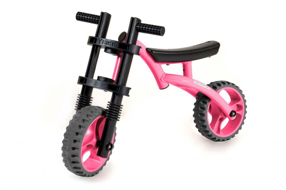 Bicicleta fara pedale Yvolution Extreme Pink
