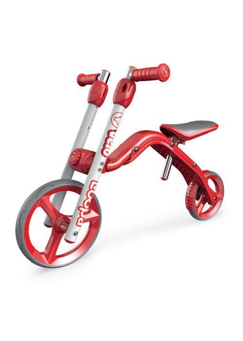 Bicicleta fara pedale Yvolution Loopa 2in1