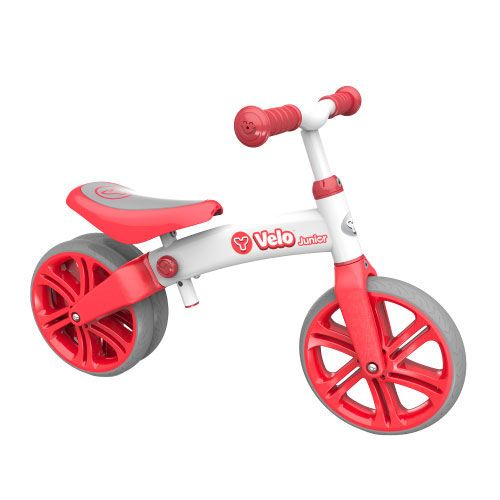 Bicicleta fara pedale Yvolution YVelo Junior red