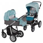 Carucior 2 in 1Baby Design Dotty 05 Turquoise 2017