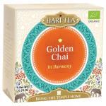 Ceai premium Hari Tea In Harmony golden chai bio 10dz