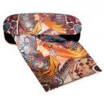 Etui cu textil si protectie ochelari Art Nouveau