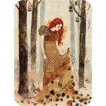 Felicitare Eclectic Autumn Leaves