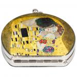 Oglinda Fridolin Klimt  Sarutul