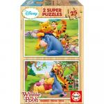 Puzzle Winnie the Pooh 2x25