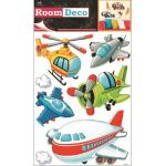 Sticker de perete Room Decor avioane 42x25cm