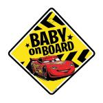 Semn de avertizare Baby on Board Cars Seven SV9610