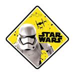 Semn de avertizare Baby on Board Star Wars Stormtrooper Seven SV9624