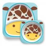 Set farfurie & bol Girafa Skip Hop