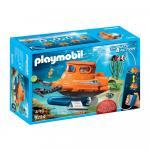 Submarin cu motor subacvatic