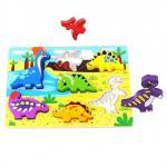 Puzzle de potrivit dinozauri Tooky Toy