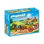 Trasura cu cal Playmobil