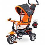 Tricicleta pentru copii cu scaun reversibil Toyz Timmy Orange