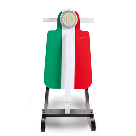 Balansoar Din Lemn Tip Scooter Italy