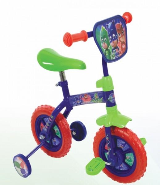 Bicicleta 2 in 1 cu roti ajutatoare PJ Mask