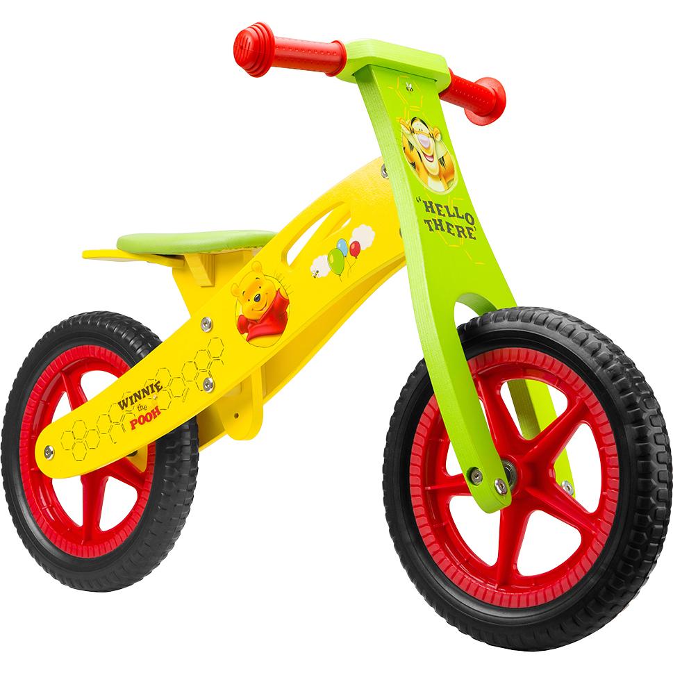 Bicicleta din lemn fara pedale 12 Winnie the Pooh Seven SV9910 - 1