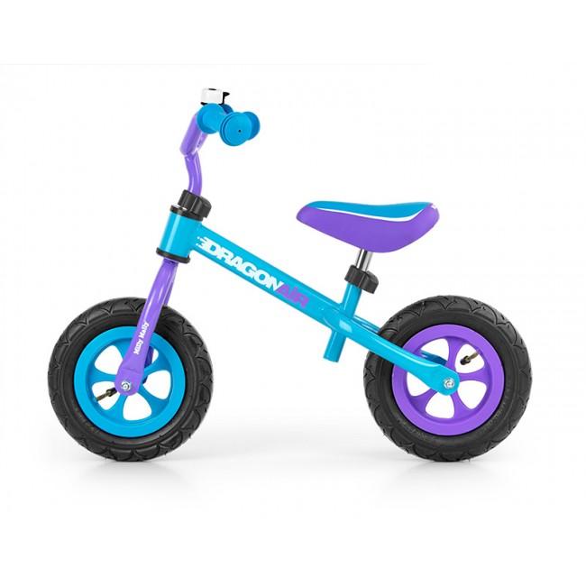 Bicicleta fara pedale Dragon Air Turquise
