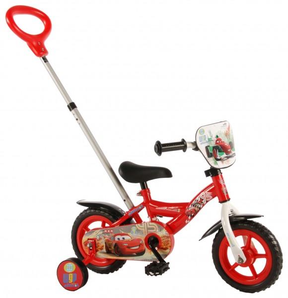 Bicicleta pentru baieti 12 inch cu roti ajutatoare Cars