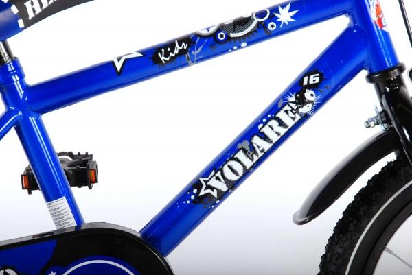 Bicicleta pentru baieti 16 inch cu roti ajutatoare Volare Hero