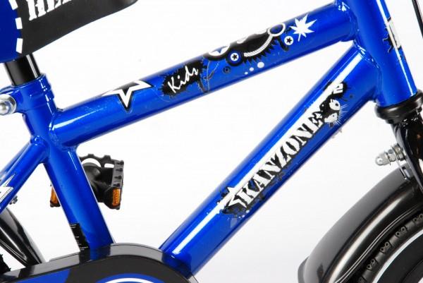 Bicicleta pentru baieti Yipeeh Hero 12 inch cu roti ajutatoare Kanzone