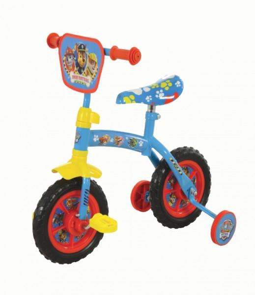 Bicicleta pentru copii 2 in 1 cu roti ajutatoare Paw Patrol
