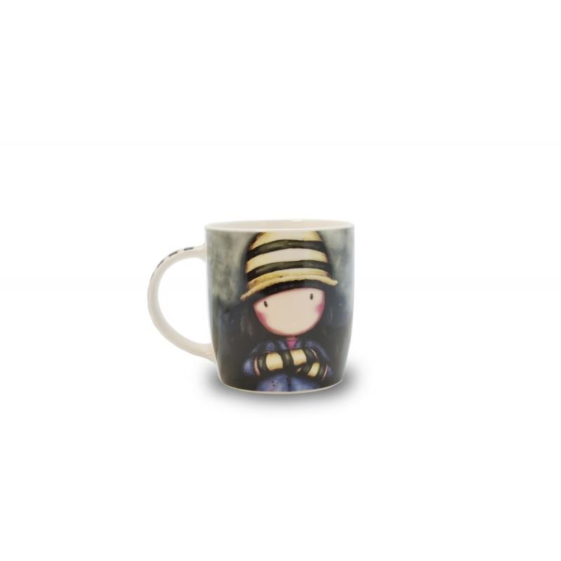 Cana portelan in cutie Gorjuss Toadstools 330ml