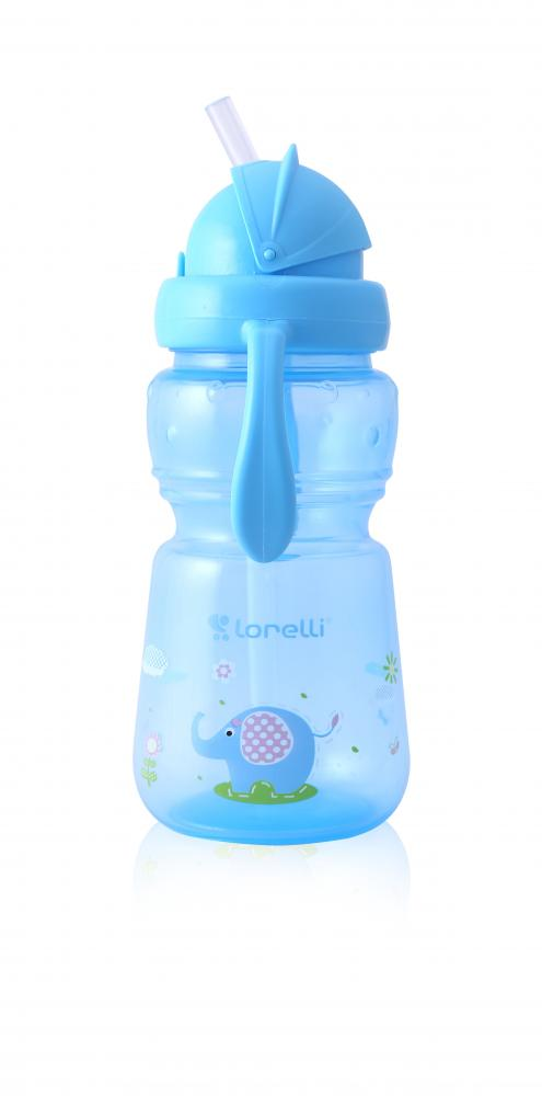 Cana sport cu pai si manere 325 ml Animals Blue