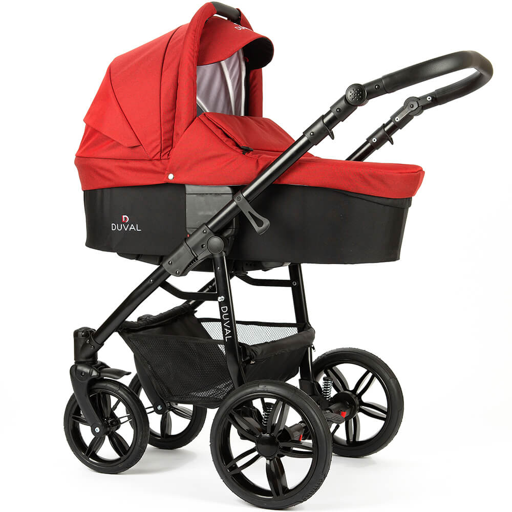 Carucior 3 in 1 Duval Contour Red
