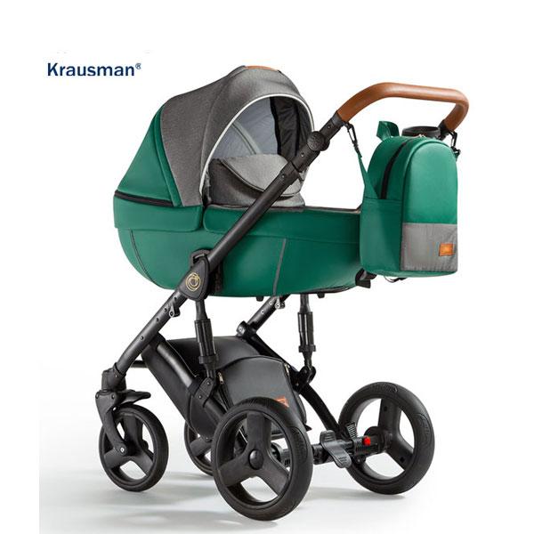 KRAUSMAN Carucior 3 in 1 Nexxo Green