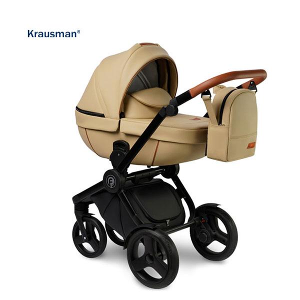 KRAUSMAN Carucior 3 in 1 Topaz Lux Beige