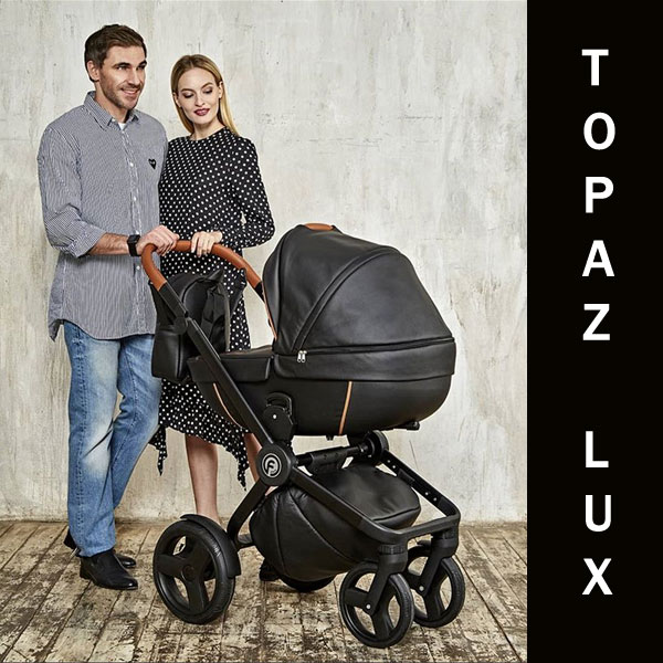Carucior 3 in 1 Topaz Lux Black - 1