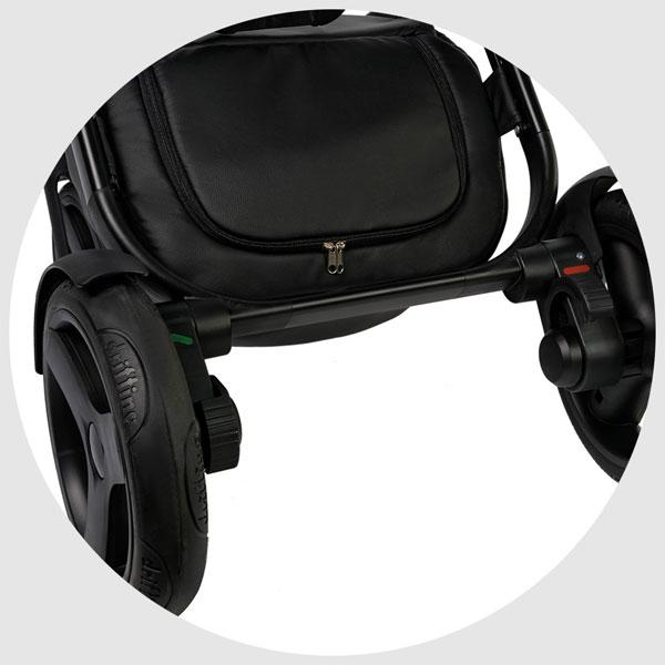 Carucior 3 in 1 Topaz Lux Black - 10