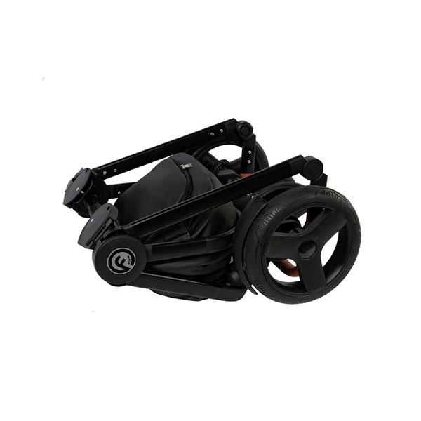 Carucior 3 in 1 Topaz Lux Black - 12